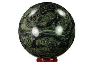 "3.05"" Polished Kambaba Jasper Sphere - Madagascar For Sale, #146057"
