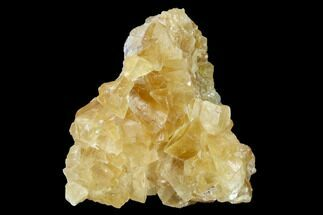 "Buy 2.8"" Lustrous Yellow Calcite Crystal Cluster - Fluorescent! - #146641"