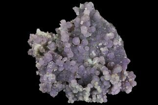 "3"" Purple Botryoidal Grape Agate - Indonesia For Sale, #146876"