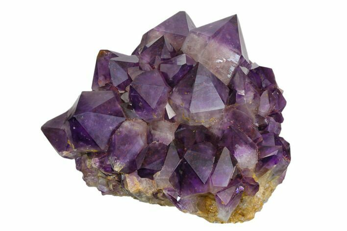 "Beautiful, 7.1"" Purple Amethyst Crystal Cluster - Congo"