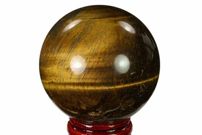 "2.1"" Polished Tiger's Eye Sphere - Africa"
