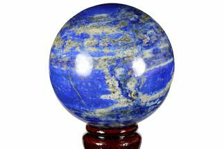 "3.3"" Polished Lapis Lazuli Sphere - Pakistan For Sale, #149375"