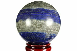 "3.5"" Polished Lapis Lazuli Sphere - Pakistan For Sale, #149384"