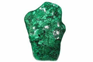 "10.6"" Tall, Free-Standing, Polished Malachite - Congo For Sale, #150317"