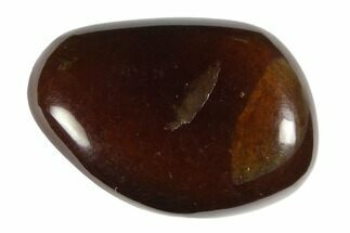"Tumbled Indonesian Blue Amber (3/4"" Size) - Fluorescent For Sale, #150401"