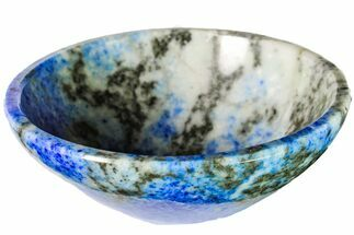 "2.85"" Polished Lapis Lazuli Bowl - Pakistan For Sale, #153257"