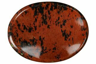"Mahogany Obsidian Worry Stones - 1.5"" Size For Sale, #155186"