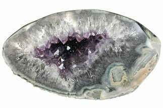 "7.9"" Purple Amethyst Geode - Artigas, Uruguay For Sale, #151283"