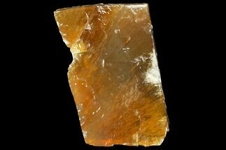 "Buy 6.1"" Free-Standing Golden Calcite - Chihuahua, Mexico - #155794"