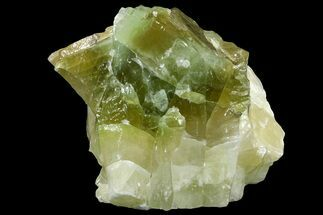 "Buy 6.2"" Free-Standing Green Calcite - Chihuahua, Mexico - #155806"