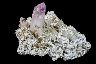 "3.4"" Amethyst Crystal Cluster - Las Vigas, Mexico For Sale, #155396"
