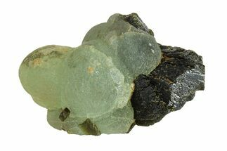 "1.5"" Botryoidal Prehnite On Epidote - Mali For Sale, #156686"