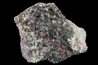 "Buy 4.4"" Roselite and Calcite Crystal Association - Morocco - #159439"