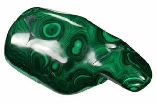 "3.6"" Beautiful, Polished Malachite Specimen - Congo For Sale, #159845"