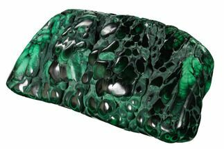 "Buy 5.2"" Beautiful, Polished Malachite Specimen - Congo - #159904"