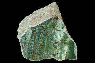 "3.3"" Polished Fuchsite Chert (Dragon Stone) Section - Australia For Sale, #160340"