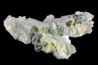 Epidote & Quartz - Fossils For Sale - #161148