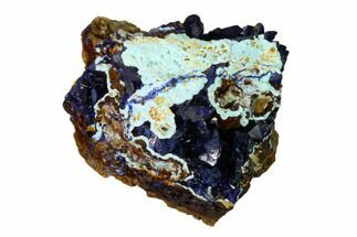 Azurite, Malachite & Chrysocolla - Fossils For Sale - #162579