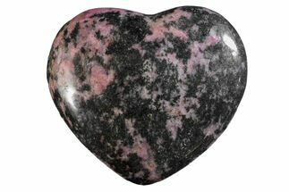 Rhodonite with Manganese Oxide - Fossils For Sale - #160449