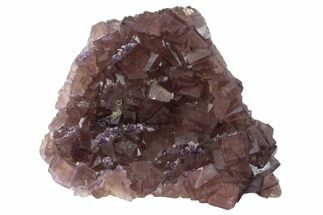 Fluorite, Pyrite & Quartz - Fossils For Sale - #162009