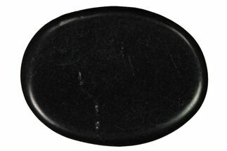 "1.8"" Polished, Shungite Worry Stones - Russia For Sale, #164072"