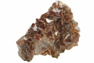 "Buy 1.6"" Thunder Bay Quartz Cluster with Hematite Inclusions - Canada - #164323"
