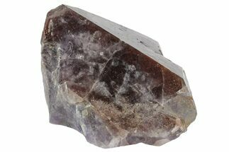"3.4"" Red Cap Amethyst Crystal - Thunder Bay, Ontario For Sale, #164414"