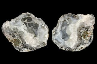 Quartz var. Chalcedony & Calcite - Fossils For Sale - #165402