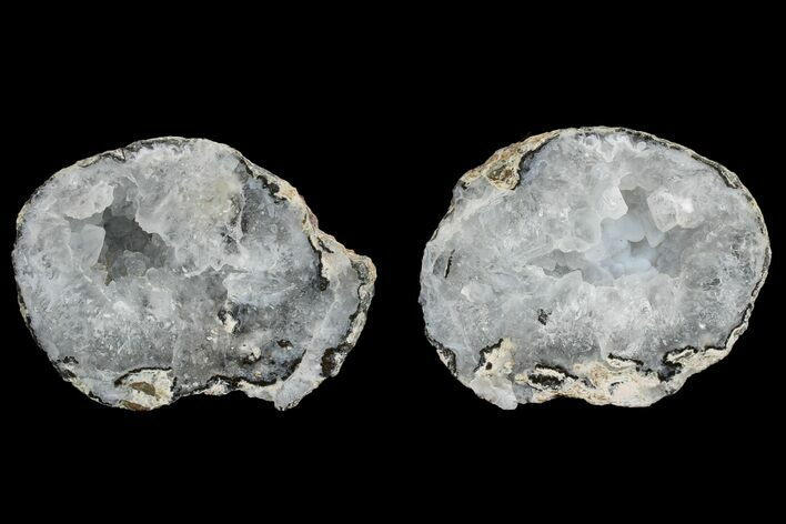 "3.2"" Las Choyas ""Coconut"" Geode with Quartz & Agate - Mexico"