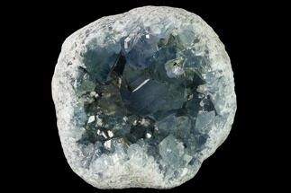 "5.1"" Sky Blue Celestine (Celestite) Geode Section - Madagascar For Sale, #166505"