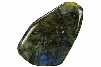 "4.6"" Flashy, Polished Labradorite Free Form - Madagascar For Sale, #167111"