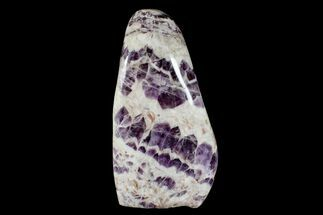 "Buy 7.2""  Tall, Free-Standing, Polished Chevron Amethyst - Brazil - #169036"