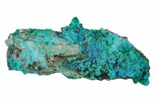 Chrysocolla, Malachite & Quartz - Fossils For Sale - #169260