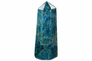 "9.6"" Blue Apatite Obelisk - Madagascar For Sale, #169427"