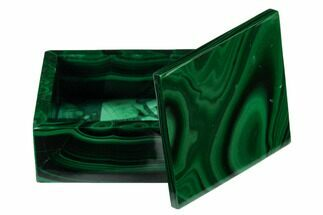 "Buy 2.15"" Polished Malachite Jewelry Box - Congo - #169870"