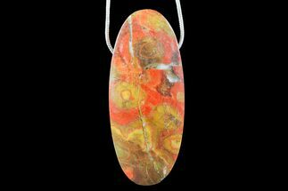 Buy Morgan Hill Poppy Jasper Pendant with Snake Chain Necklace - #171139