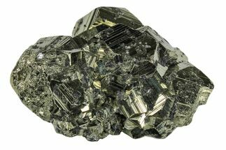 "3.6"" Shiny Pyrite Crystal Cluster - Peru For Sale, #173267"