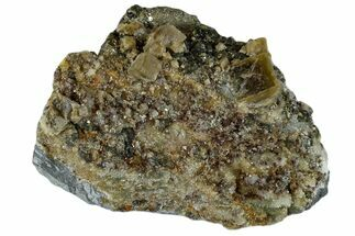 Siderite, Quartz & Pyrite - Fossils For Sale - #173412