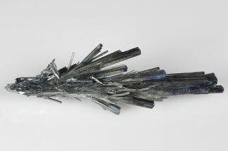 "2.45"" Lustrous, Metallic Stibnite Crystal Spray - China For Sale, #175844"