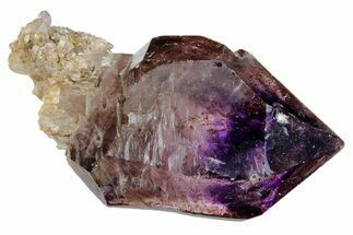 Quartz var. Smoky Amethyst & Hematite - Fossils For Sale - #175743