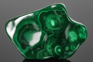 "3.8"" Beautiful, Polished Malachite Specimen - Congo For Sale, #176093"