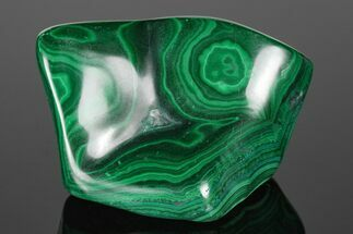 "3"" Beautiful, Polished Malachite Specimen - Congo For Sale, #176102"