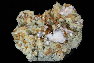 "6.7"" Apophyllite Crystals and Scolecite Sprays -India For Sale, #176840"