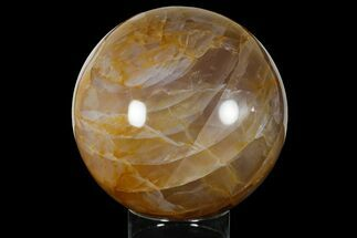 "7"" Beautiful, Polished Hematoid Quartz Sphere For Sale, #177299"