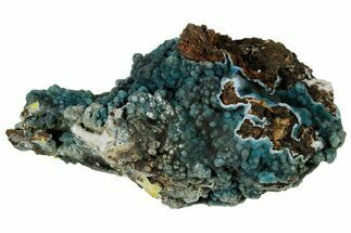 "Buy 8.8"" Blue-Green Plumbogummite on Pyromorphite - Yangshuo Mine, China - #177178"